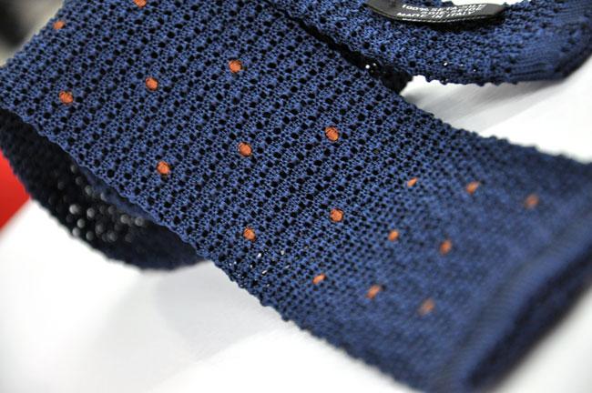 Cravatte in maglia