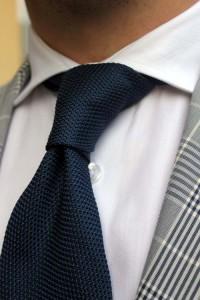 Cravatta garza Arcuri
